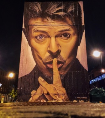 David Bowie mural by Akse (taken on iPhone)