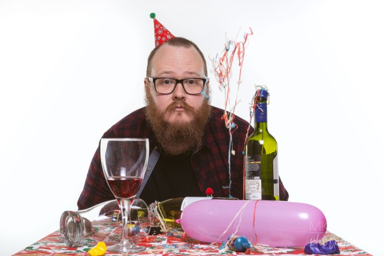 "Self Portrait ""Self Employed Christmas Party"""